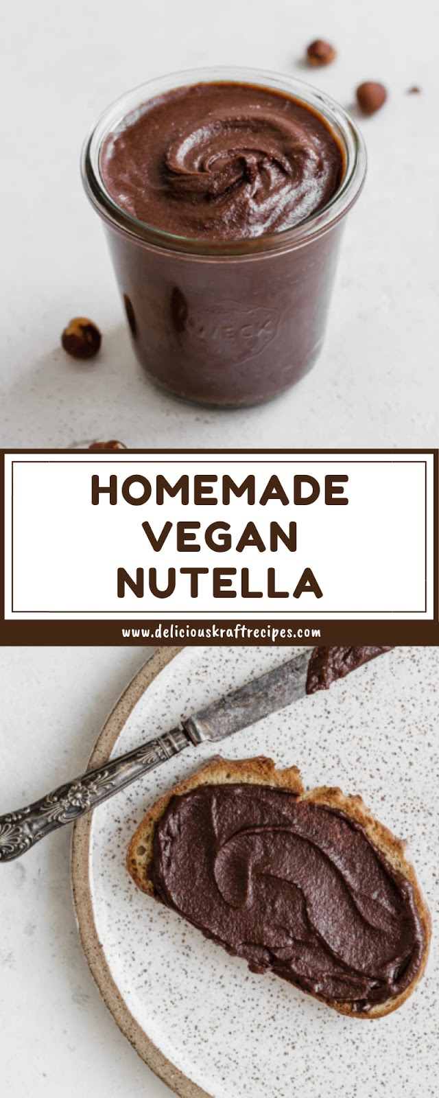 HOMEMADE VEGAN NUTELLA