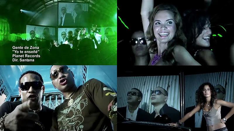 Gente de Zona - ¨Yo te enseñé¨ - Videoclip - Dirección: Santana. Portal del Vídeo Clip Cubano