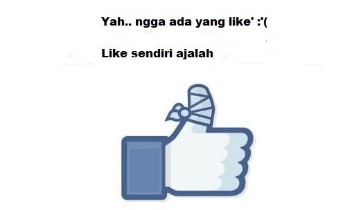Inilah Beberapa Alasan Tidak Ada Yang Like Postingan Kamu di Facebook