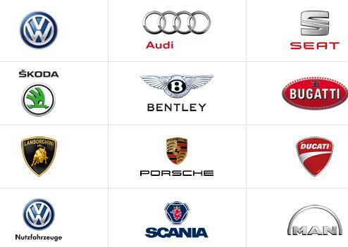 Volkswagen markaları