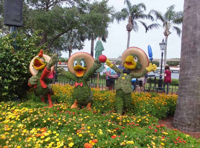 EPCOT Topiary The Three Amigos