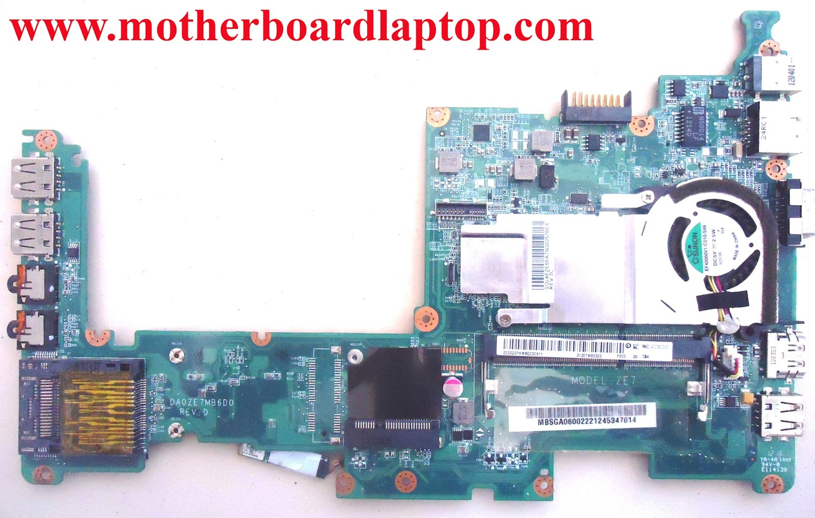 Motherboard Laptop Bekas Acer Aspire One D270
