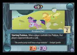 My Little Pony Avalanche! Premiere CCG Card