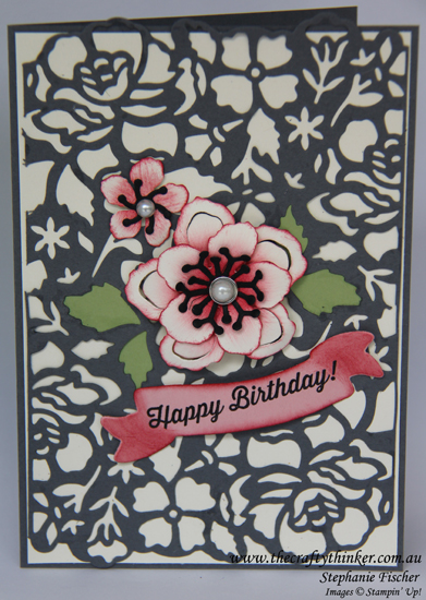 Stampin Up, SU, #thecraftythinker, Floral Phrases, Botanical Builder, Stampin Up Australia Demonstrator