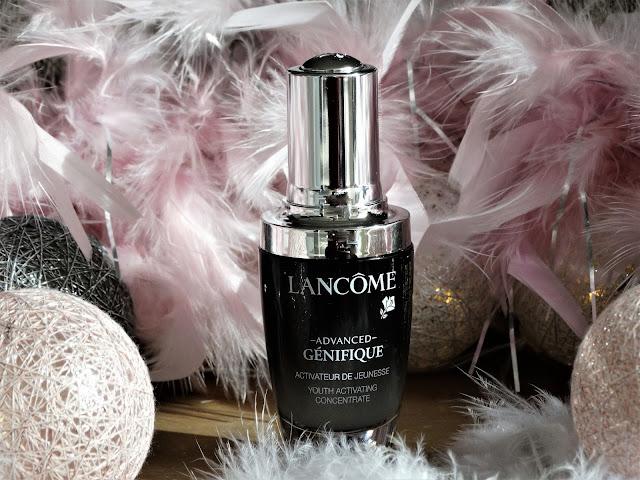 Avis Sérum Advanced Génifique de Lancôme, blog beauté, blog bougie