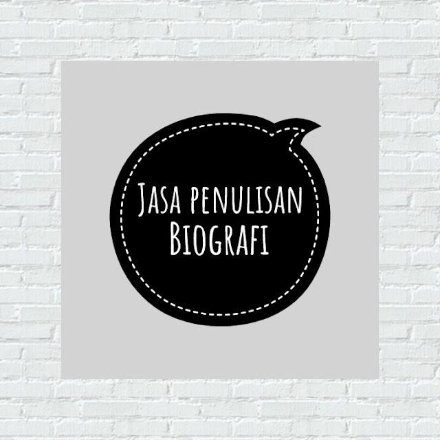 Jasa Penulisan Buku BIografi dan Ghost Writer