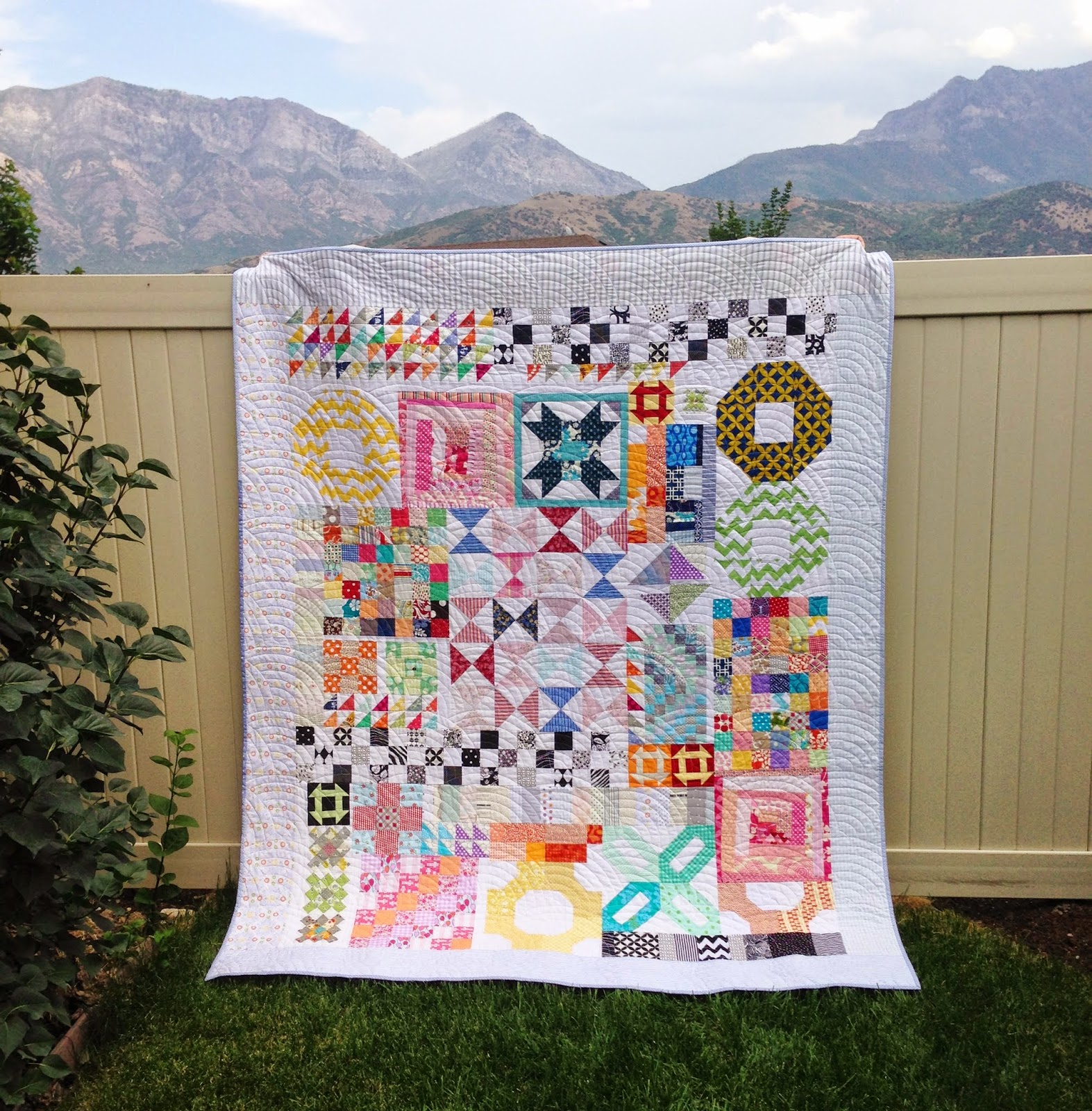 Simple Girl Simple Life Everything But The Kitchen Sink Quilt Finished