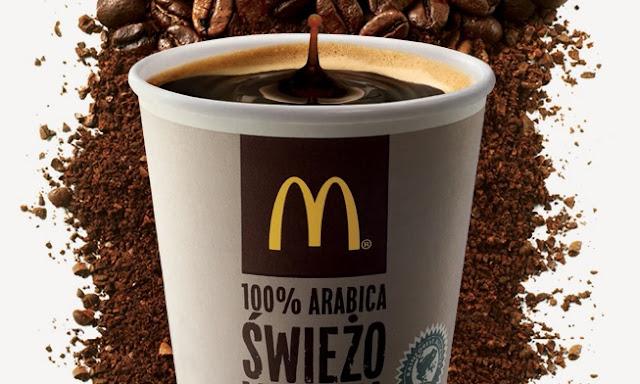 poczęstuj się kawą mcdonald's