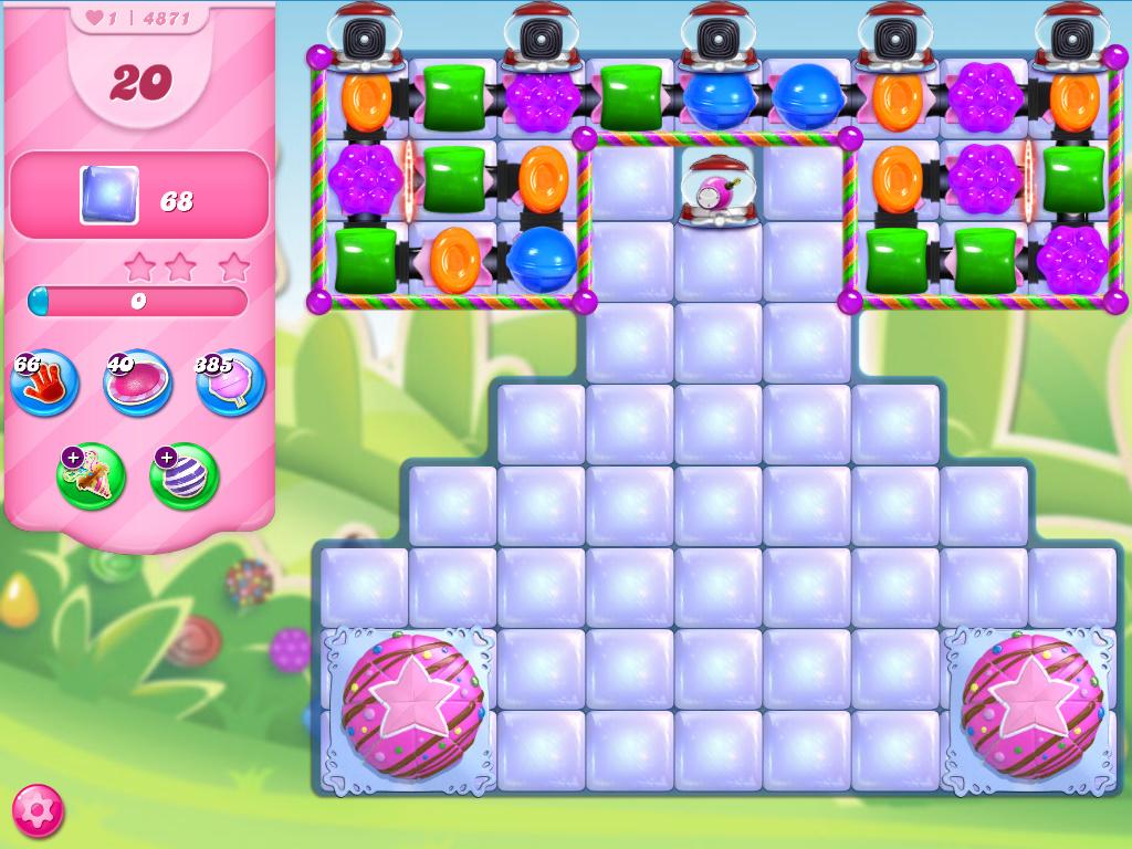 Candy Crush Saga level 4871