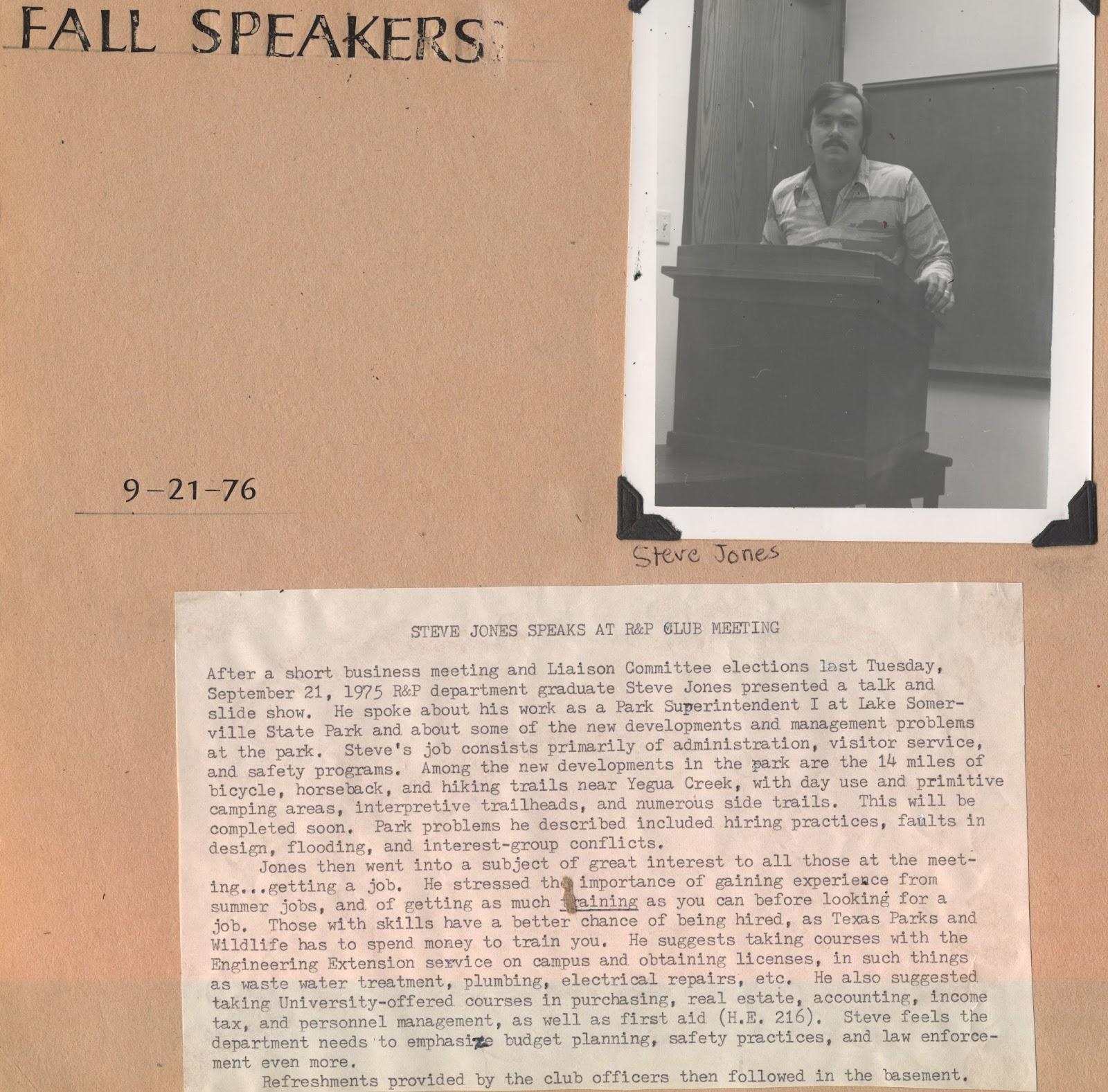 ABT UNK Sentimental Sunday TAMU RPTS Stories RP Club Fall - Abt speakers