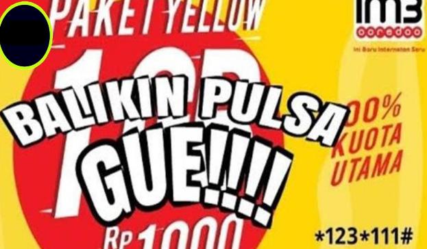 Cara Mengembalikan Pulsa Tersedot di Indosat