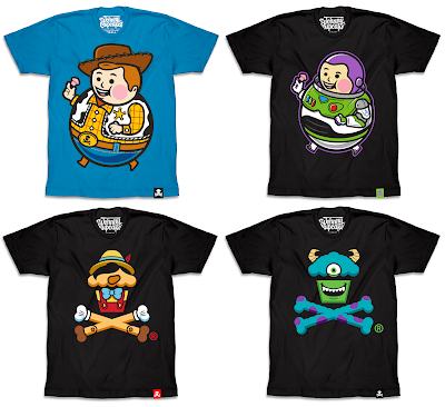 Johnny Cupcakes x Disney T-Shirts – Toy Story, Pinocchio & Monsters Inc.