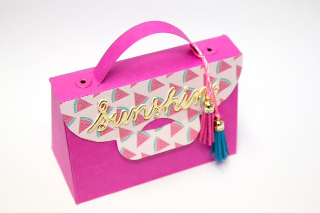 Buntbox Handbag pink