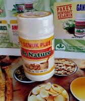 Obat Penggemuk Badan ( isi 2 botol ) Penambah Berat Badan Kapsul Nafsu Makan