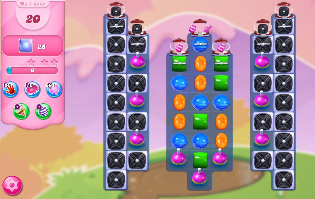 Candy Crush Saga level 6518