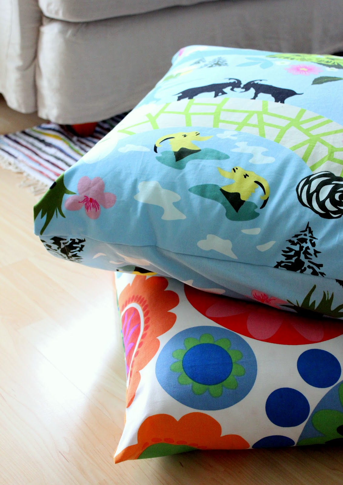 Reading Nook Floor Pillows High House Then Radio Flooral Pillows