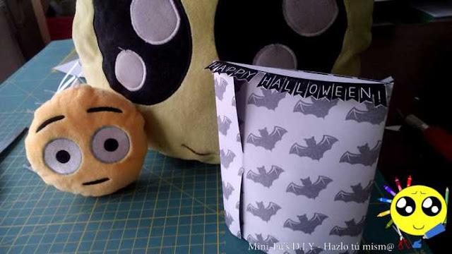 Como hacer una Tarjeta sorpresa en 3D para halloween