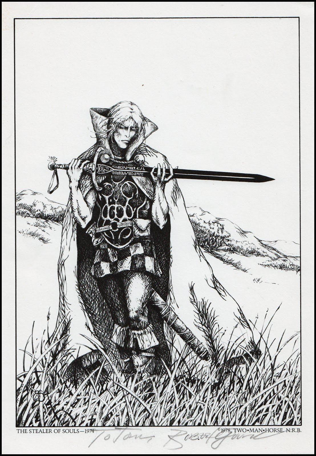 Fantasy Ink: The Stealer of Souls