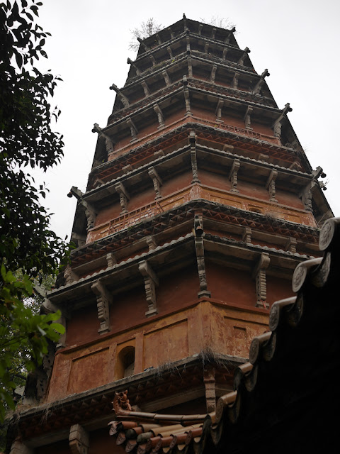 Hongshan Pagoda (洪山宝塔) in Wuhan, China