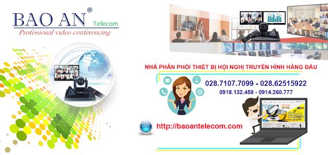 Bảo An Telecom - Nhà phân phối thiết bị hội nghị truyền hình hàng đầu Việt Nam