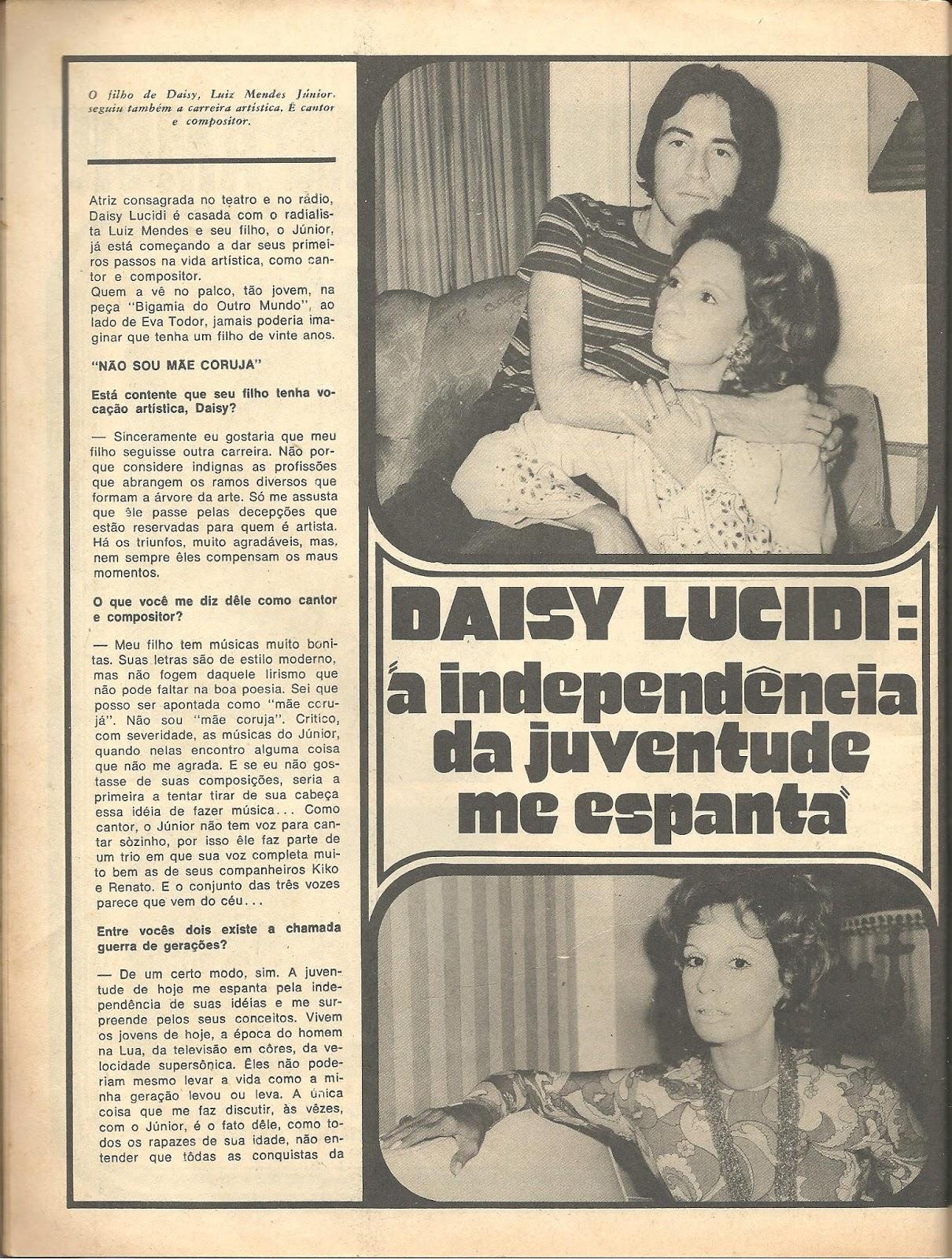 Dayse Lucidi Ele tudo isso é tv: romÂntica nº 128 - dezembro 1971
