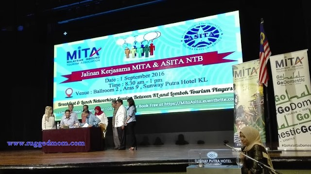 Ke Lombok Ke Kita?? MITA dan ASITA Tandatangani MOU Promosi Pelancongan Malaysia-Indonesia