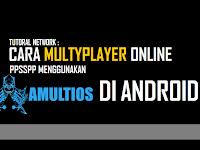 Cara Multyplayer Online PPSSPP Menggunakan Server Amultios Di Android