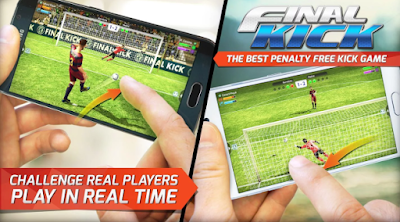 Final kick - Games Bola Seru dan Ringan di Android