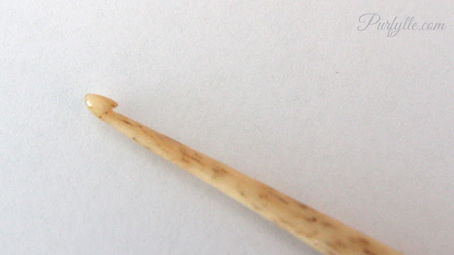 bone crochet hook