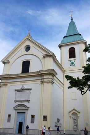 vienne döbling stadtwanderweg 1 kahlenberg nussdorf randonnée église