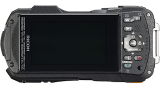 Ricoh WG-50, вид сзади