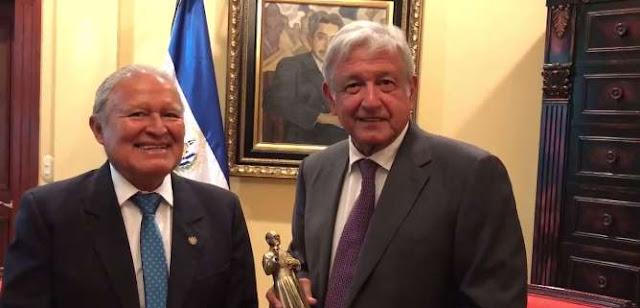 Obrador se reúne con el presidente de El Salvador (VIDEO)