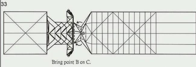 dragon origami diagram