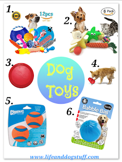 Guest post from Buffy - Dog toys to shop