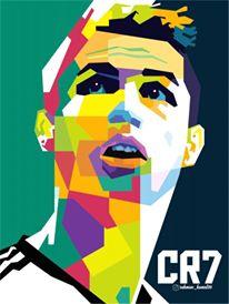 Critiano Ronaldo in WPAP