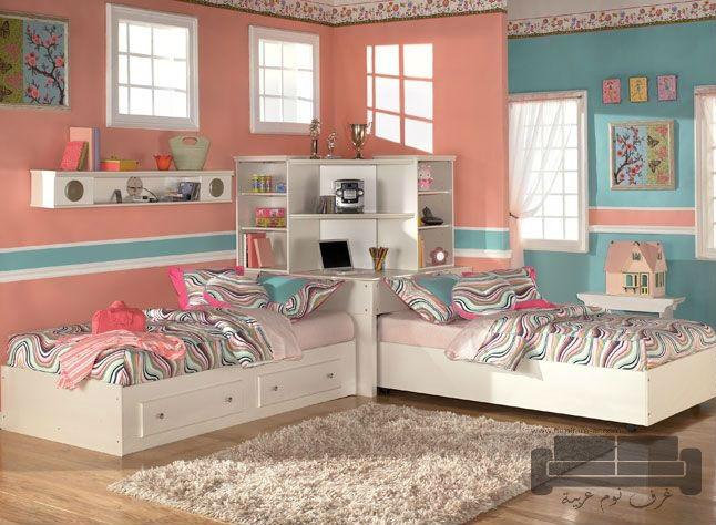 غرف نوم بنات كاملة 2017 للبيع   غرف نوم   الأثاث الحديث