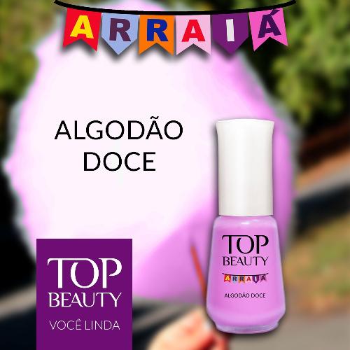 Esmalte Top Beauty :: Algodão Doce - Resenha