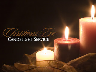 Church Candlelight Service Granbury Christmas Eve