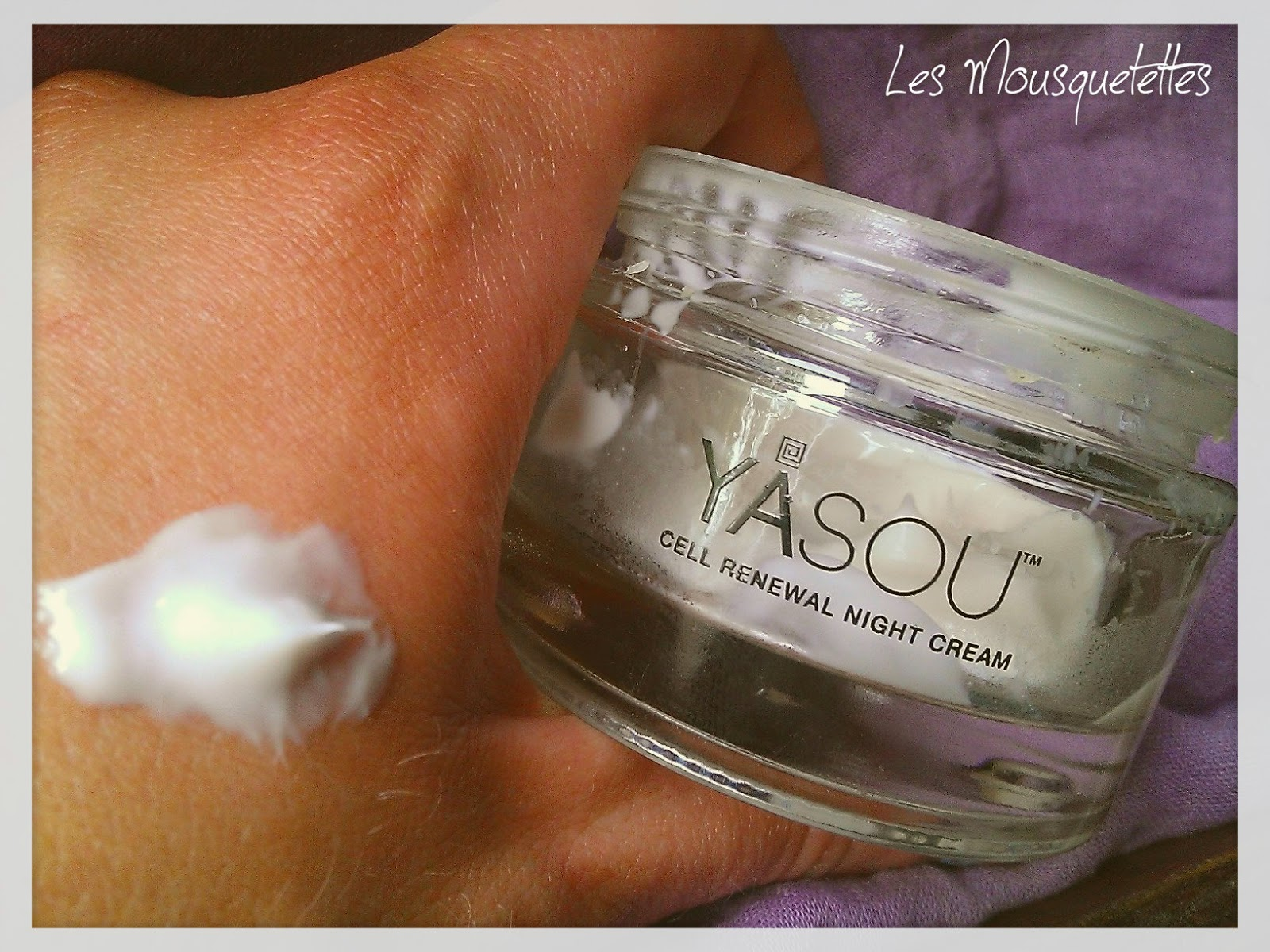Cell Renewal Night Cream Yasou Skincare - Les Mousquetettes©