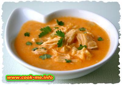Chicken soup a la Grec
