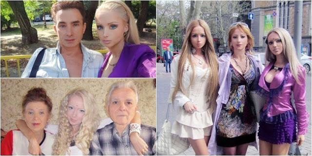 satu keluarga yang semuanya terobsesi untuk menjadi barbie