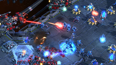 Starcraft II wing of liberty gameplay