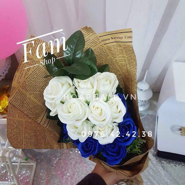 Hoa hong sap thom vinh cuu o Le Hong Phong