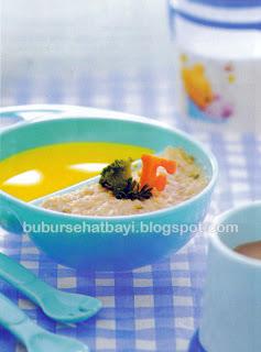 Resep Variasi Aneka Bubur Bayi Sehat Usia  Resep Bubur Kentang Kari Daging