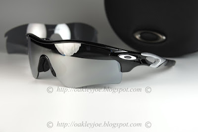 Custom Radarlock asian fit polished black + chrome iridium + vr28 iridium   350 lens pre coated with Oakley hydrophobic nano solution complete set  with box, ... 810b12e5434c