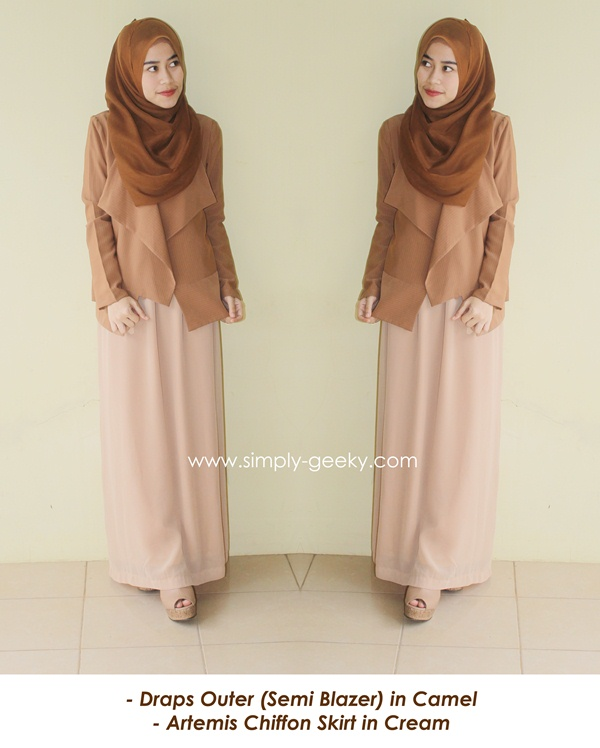 Hijab Outfit Formal Suit