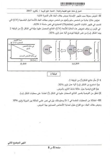 تحليل فضيحة موضوع بكالوريا العلوم الطبيعية حسب الاستاذ بوريشي احمد