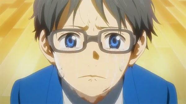 Shigatsu wa Kimi no Uso - anime populer fall 2014