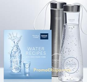 Logo Richiedi gratis la bottiglia Grohe e libro di cucina