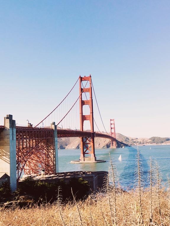 best views of the golden gate bridge welcome center